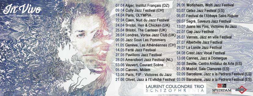 Laurent Coulondre Summer Tour